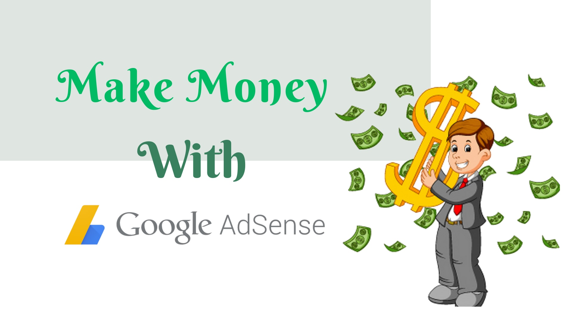 make money online with google adsense - 10 Legit Ways to Make Money Online With Google