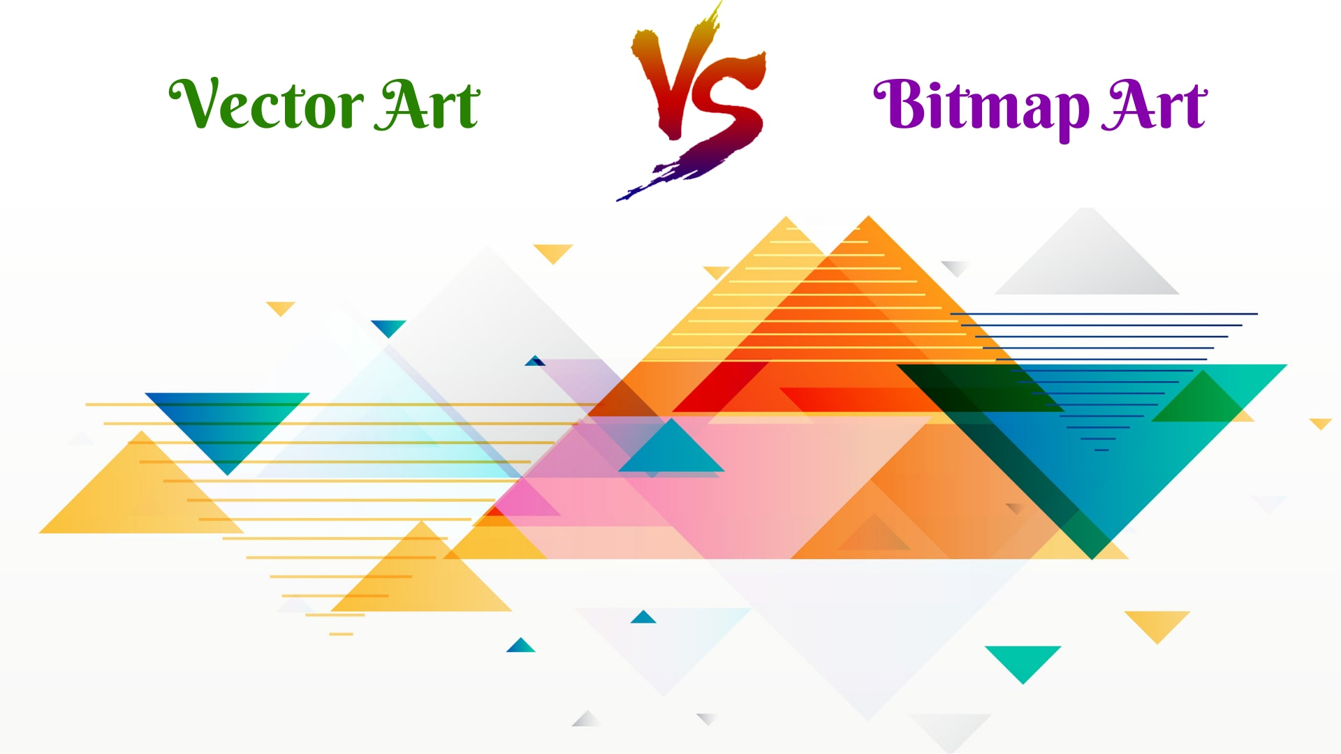Vector art vs Bitmap art - Beginners Guide - What is Vector Art?