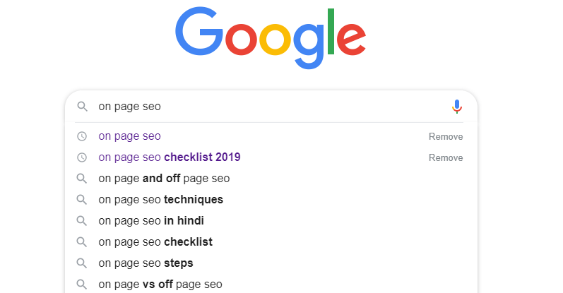 google suggest - 30+ SEO Interview Questions & Answers 2020