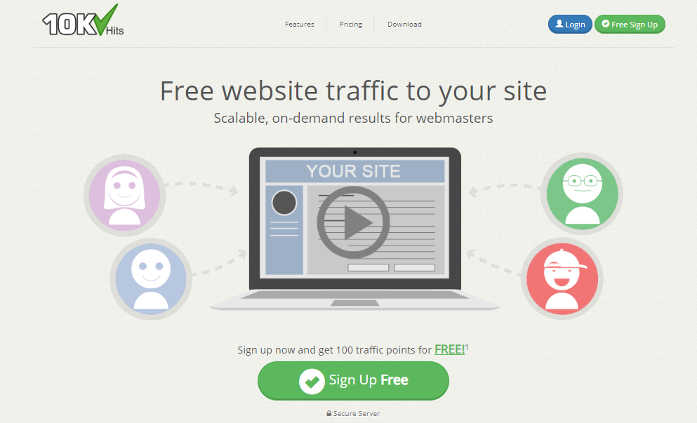 10k hits join - Free Website Traffic with 10khits 2020