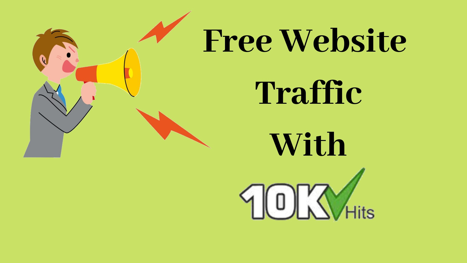Free Website Traffic with 10khits 2020