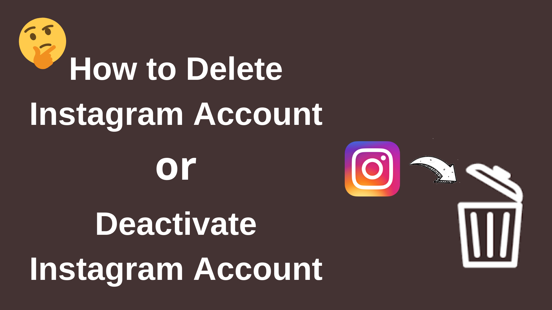 How to Delete Instagram Account (With Pictures) 2020