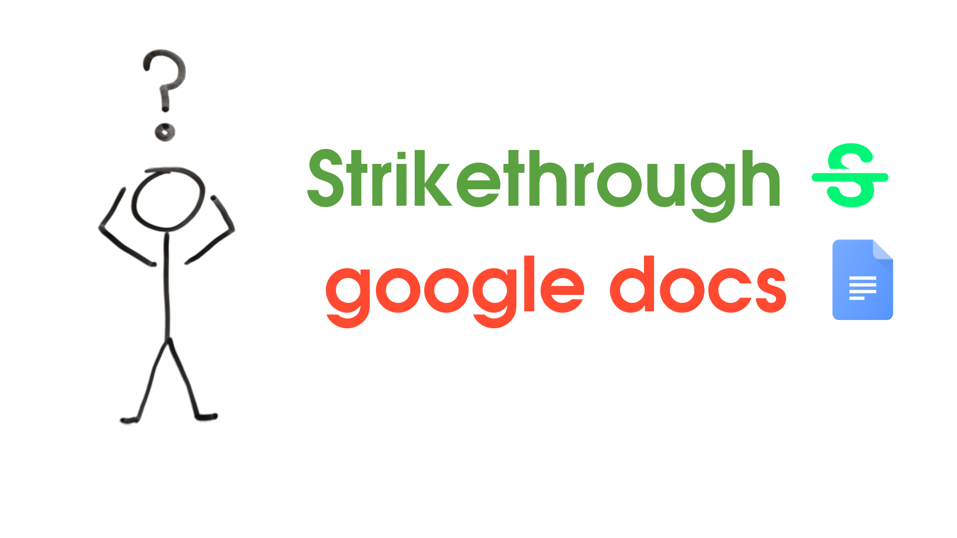 strikethrough google docs 1 - How to Add Strikethrough in Google Docs with shortcut keys