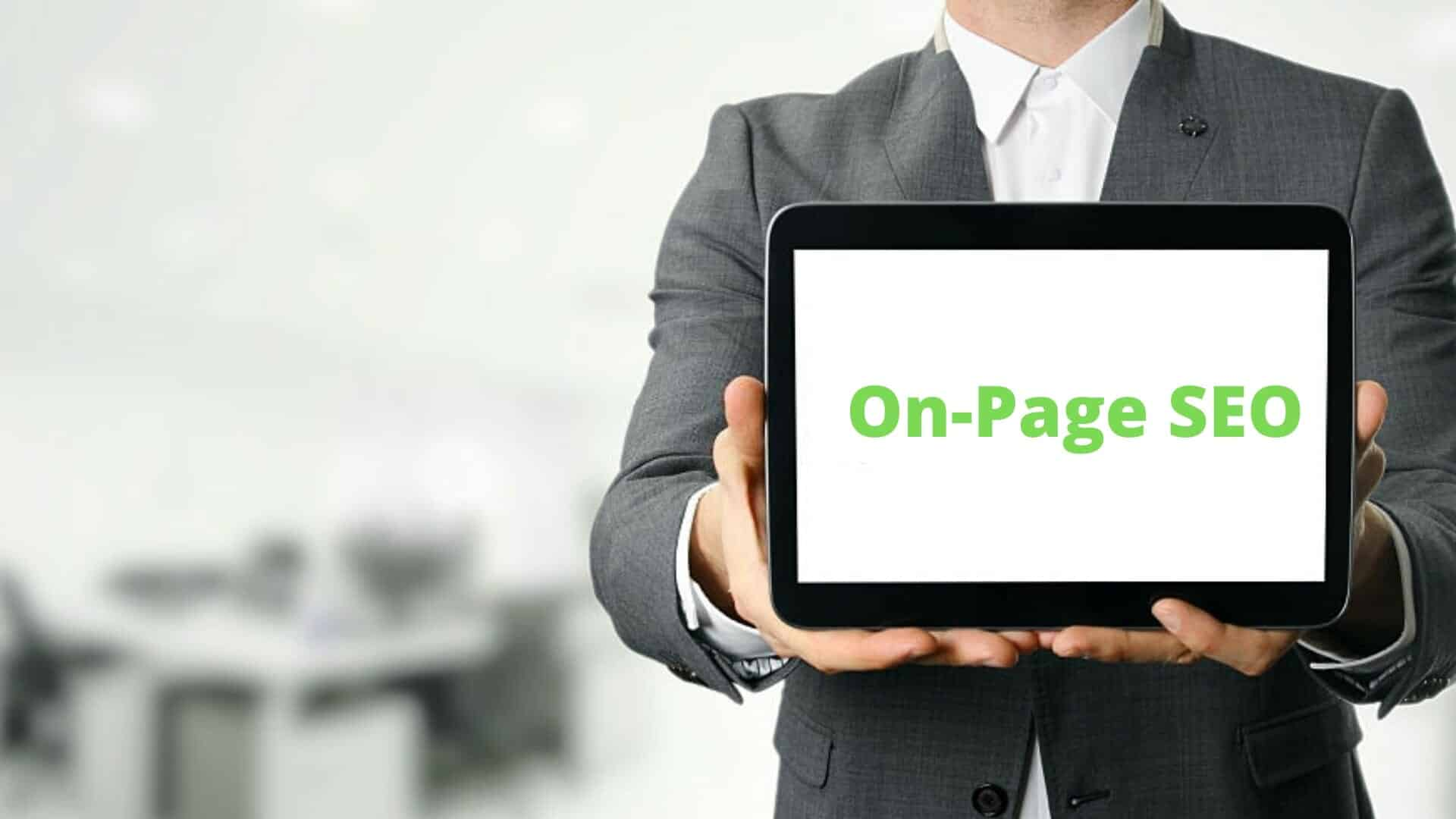 on page SEO - 10 Different types of SEO that improve your online success