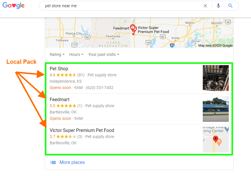 pet store - 10 Different types of SEO that improve your online success