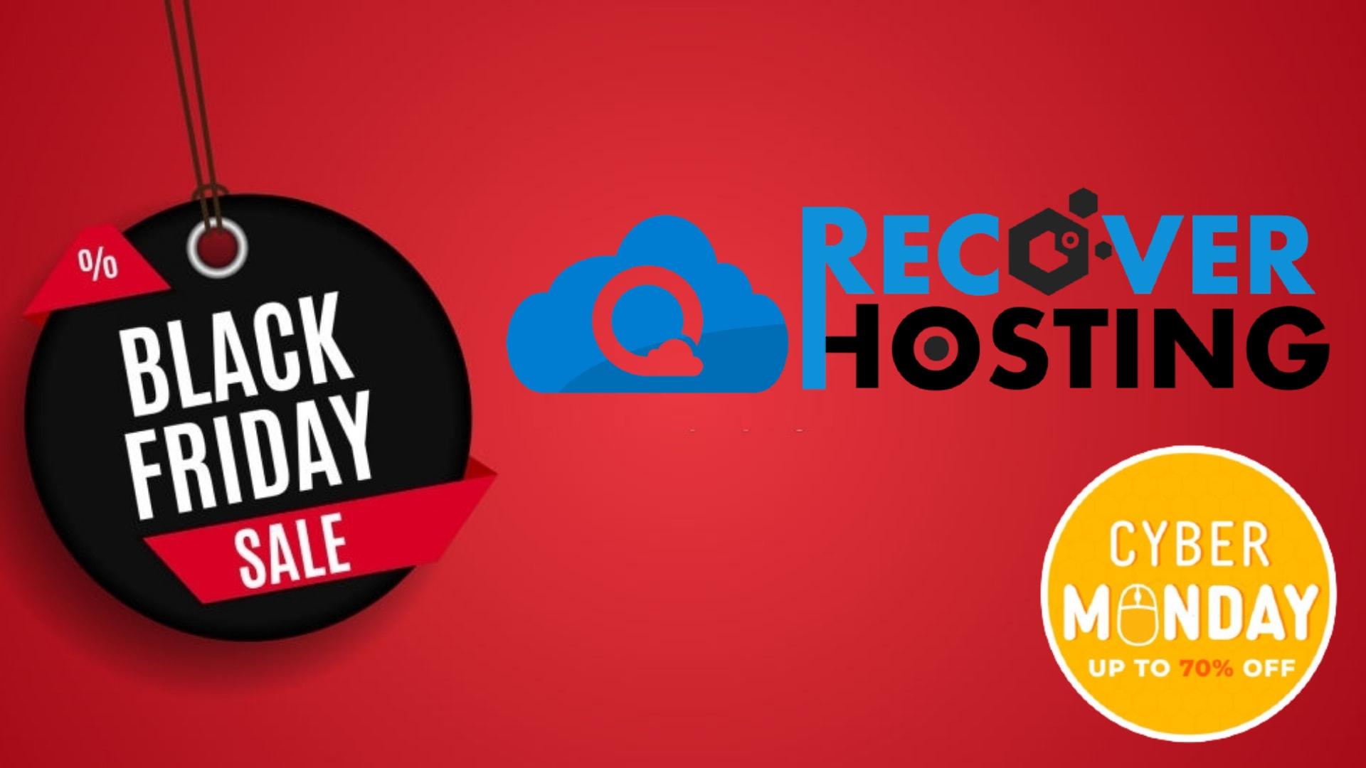 RecoverHosting Black Friday Deals 2020 - Top 10 Black Friday Hosting Deals 2020
