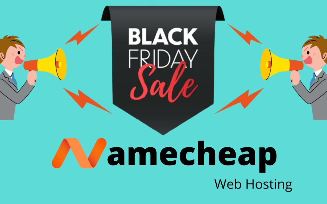Namecheap Black Friday Sale 2020 [Flat 99% off]