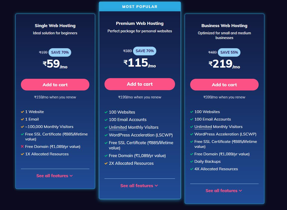 screenshot www.hostinger.in 2020.11.21 16 48 36 - Hostinger Black Friday Deal Live Now Upto 90% off