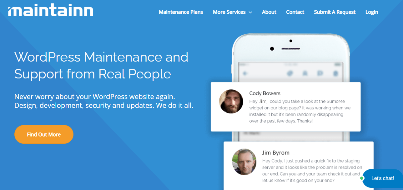 Maintainn - 15+ WordPress Maintenance and Support Services [Updated 2021]