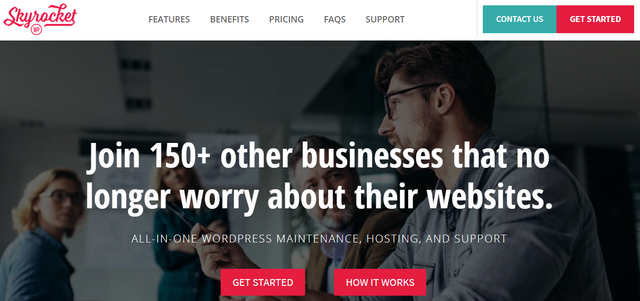 SkyrocketWP - 15+ WordPress Maintenance and Support Services [Updated 2021]