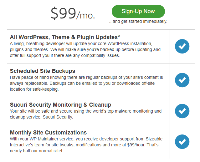 WP Maintainer Pricing e1614281739154 - 15+ WordPress Maintenance and Support Services [Updated 2021]