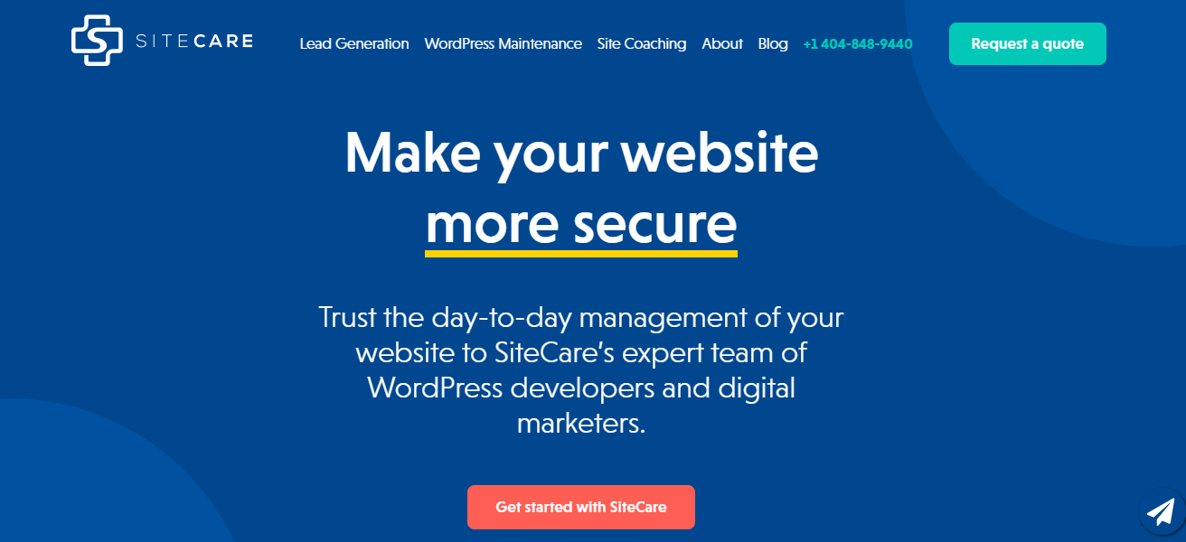 WP Site Care - 15+ WordPress Maintenance and Support Services [Updated 2021]