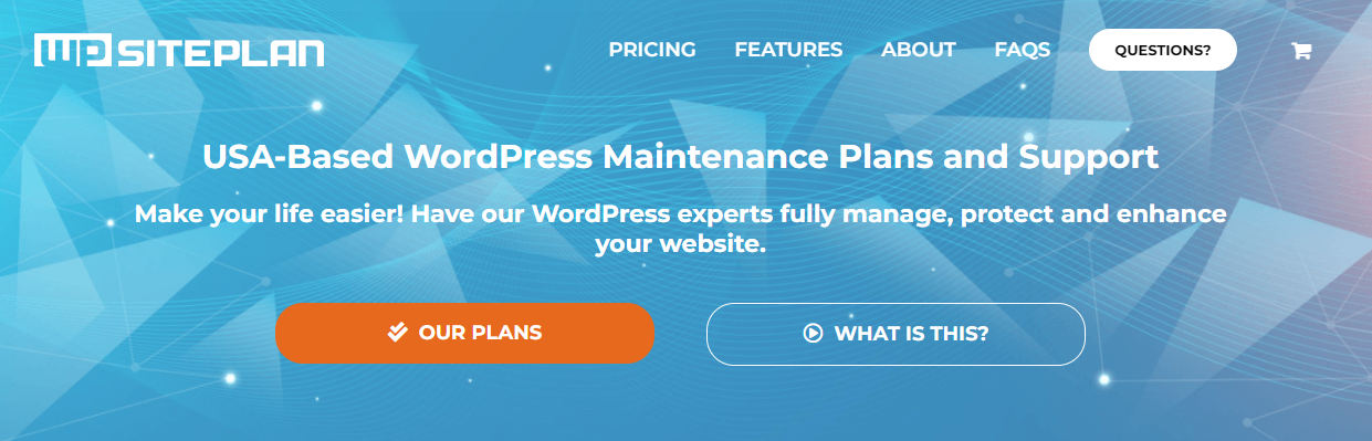 WP SitePlan - 15+ WordPress Maintenance and Support Services [Updated 2021]
