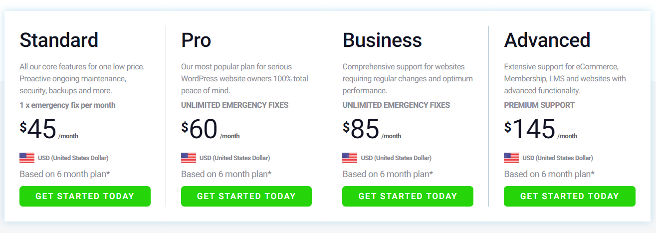 WP Tech Support Pricing - 15+ WordPress Maintenance and Support Services [Updated 2021]