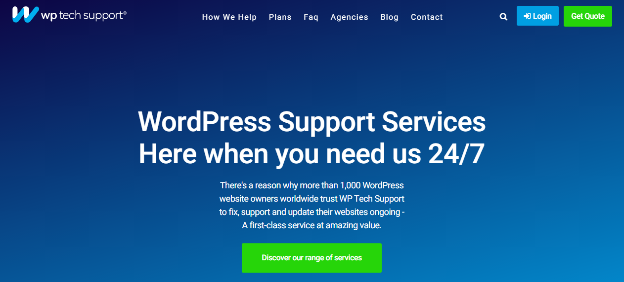 WP Tech Support - 15+ WordPress Maintenance and Support Services [Updated 2021]